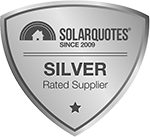 Silver Badge from Solar Quotes