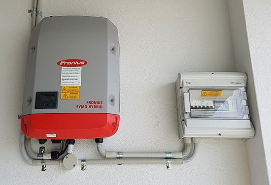 New Solar Inverter Installation