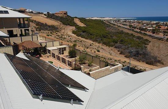 New Solar Panel Installation