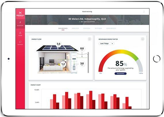 Redback Smart Hybrid System Portal